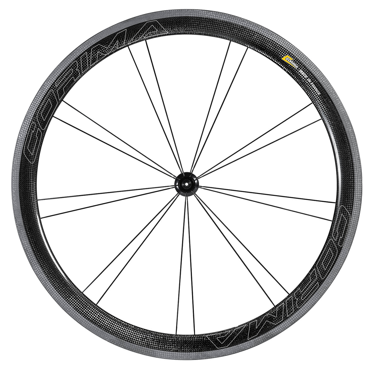 Front CORIMA 47MM WS Black Dx Dx Tubeless ready